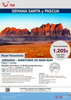 Semana Santa y Pascua-Jordania:Aventuras de Wadi Rum.Barcelona 29/03 y 5/4. Precio final dsde 1.205€ ultimo minuto - http://zocotours.com/semana-santa-y-pascua-jordaniaaventuras-de-wadi-rum-barcelona-2903-y-54-precio-final-dsde-1-205e-ultimo-minuto-2/