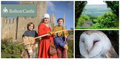 Great half-term family day out! Explore a majestic medieval fortress with your little lords & ladies this Easter when you save 52% on a family ticket to Bolton Castle. One of the country's best preserved medieval castles showcasing over 600 years of fascinating history. Medieval Fortress, Medieval Castle, Family Days Out, Family Kids, Bolton Castle, Castles, Ticket, United Kingdom, Journey