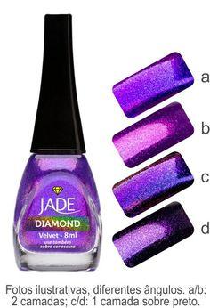 Ninja Polish - Jade Holografico and Diamond polishes from Brazil for Kris
