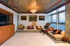 Арабский Оформление интерьера | Роскошный арабский стиль в пентхаусе ...
