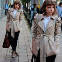 A classic trench is so sophisticated and timeless. I would love one especially for a professional work look.