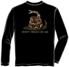 don't tread on me long sleeved shirt  - See them all at http://www.priorservice.com/miltshir.html