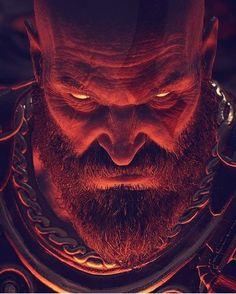 god of war 3d Dragon Tattoo, Kratos God Of War, Spartan Warrior, Pixar, Gaming Wallpapers, Greek Gods, Mythical Creatures, Game Art, Mythology
