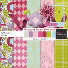 Free downloads for your digital scrapbooking. There's a lot of stuff here...
