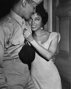 blackhistoryalbum:Dorothy Dandridge w/ Harry Belafonte [ Classic Black . Harry Belafonte, Dorothy Dandridge, Black Love, My Black Is Beautiful, Beautiful Scenery, Beautiful Moments, Hollywood Glamour, Classic Hollywood, Old Hollywood