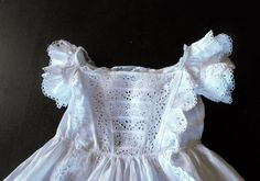 Vintage Christening Gown French