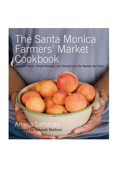 15 Hostess Gifts That Will Get You Invited Back Next Year #refinery29  http://www.refinery29.com/fashionable-holiday-hostess-gifts#slide7  The Santa Monica Farmers' Market Cookbook, $22.95, available at LACMA.