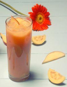 """Papaya, Guava & Apple Punch""...slurp"
