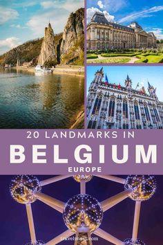 Landmarks in Belgium - 20 Landmarks and Monuments in Belgium