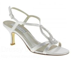 Mindy Wedding Dress Shoes in White : BWS0510 65.99.- $