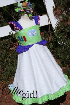 The best Toy Story costumes for girls. We have this and my little one wears it often :)