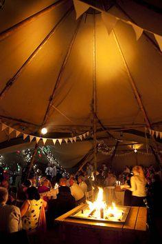 A Festival Tipi Wedding on the Family Farm: Amy & Chris