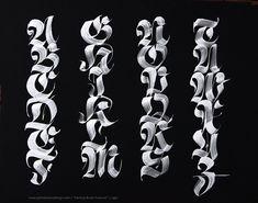 Random collection of calligraphy by John Stevens by John Stevens, via Behance