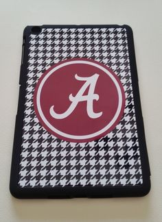 Alabama Crimson Tide Houndstooth IPad Mini Case by SDdoodles
