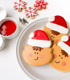 Elf Cookies with any Elf Face Cutter