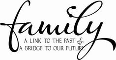 Family Link to the Past... | Wall Decals - Trading Phrases