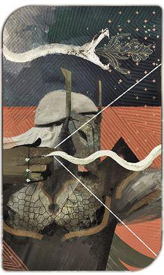 dragon age tarot card