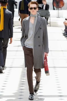 Burberry Prorsum Spring 2016 Monotone Chic Menswear - Collection - Gallery - Style.com