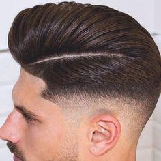 Hair doesn't make the man, but great hair definitely helps. #LibertyBarberShop #NYCBarber #BarberLife #Haircut #NYC #nychair #haircut #shave #nyclife #barbershop #barber #gentleman #dapper #love #midtown #manhattan #TGIF #razor #fadecut #groomed #freshandclean #thebigapple #empirestate