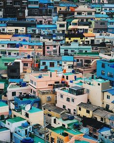 Gamcheon Culture Village Busan South Korea  Photo @natdn.s    #busan #gamcheon #culturevillage #gamcheonculturevillage #southkorea #amazingworldtours #amazingworld #exploretheworld #exloretheglobe #globetroter #travel #traveladdict #traveltheworld Busan South Korea, Times Square, Tours, Culture, Explore, World, Amazing, Travel, Instagram