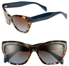 782e23305c9b Prada 56mm Cat Eye Sunglasses on shopstyle.com Sunglasses Sale