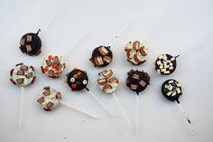 Cómo hacer piruletas de Oreo: Oreo pops
