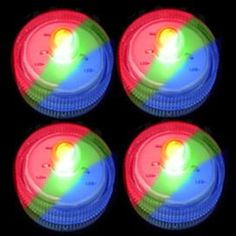 Submersible Single LED - Color Changing RGB 4 Pack