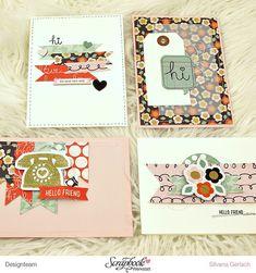 Inspirationsgalerie / Karten Werkstatt / Scrapbook Werkstatt / Clean & Simple von Silvana Gerlach