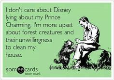 Nevermind Prince Charming, I'm looking for those animals!