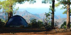 camping canary islands tamadaba