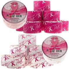 6 Rolls Breast Cancer Awareness Duct Tape $7.99  Free shipping #LavaHot http://www.lavahotdeals.com/us/cheap/6-rolls-breast-cancer-awareness-duct-tape-7/59938