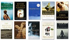 I've read many of Chris Bohjalian's books, and I LOVE THEM! A few of my favorites are Tran-sister Radio, Midwives, and The Law of Similars. Highly recommend his books to anyone!