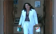 You will never be as cool as Alice Cooper strutting out of his house with 2 cans of paint.