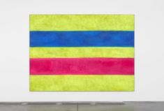 Kasper Sonne HTML22022016 2016 Aerosol paint on linen, in artists aluminum frame 96 x 132 x 2 inches / 244 x 335 x 5 cm