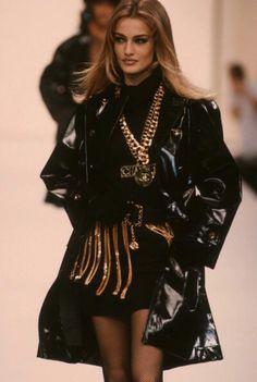 Karen Mulder for Chanel 1991