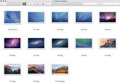 Tous les fonds décran proposés sur Mac depuis 2001 sont disponibles en 5K