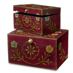 East India Painted Chests. £65