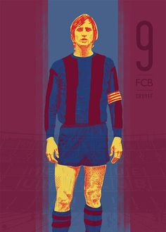 Cruyff - 11 Series: Soccer Illustrations by Ty Palmer