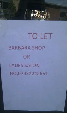 A shop full of Barbaras, for LADES only.