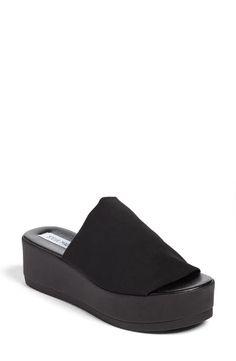 cf50fa35917 Steve Madden Slinky Platform Sandal (Women) Slide Sandals