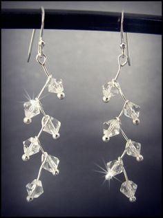 Stunning Sparkling Crystal Drop Earrings