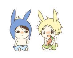 Craig x Tweek ~ tiny bunnies