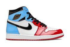 Jordan Ones, Jordan 1, Blue Jordans, Air Jordans, University Blue, 10 Anniversary, Royal Blue, Patent Leather, Sneakers Nike