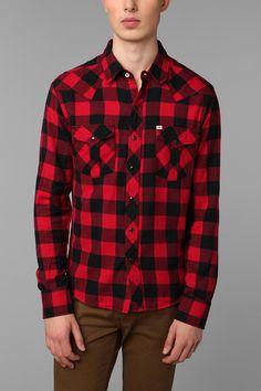 Salt Valley Brofalo Flannel Western Shirt