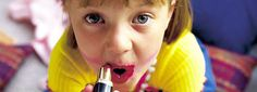 Even the little ladies can use cosmetic products containing raw materials from EMD, with no cause for concern
