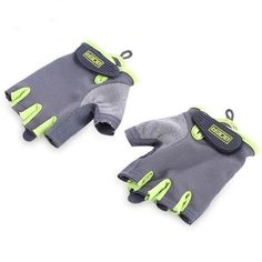 BOER Paired Fitness Sport Gym Exercise Weightlifting Women Half Finger Gloves Magic tape Non-slip Cyling Gloves for Women Gym Gloves, Workout Gloves, Cycling Gloves, Sport Body, Mitten Gloves, Sport Cars, Weight Lifting, Gym Workouts, Sport Outfits