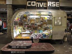 Converse and Pop Up Store