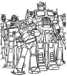 65 Best Of Photos Transformers Coloring Books Check More At