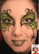 Spider mask - Face Paint