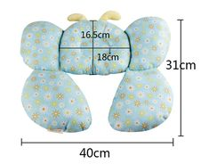 Bee Shape Cotton Baby Shaping Pillow Stroller Equipment U shaped neck pillow Baby Infant Neck Care Accessories Decorative Pillow-in Pillow from Mother & Kids on AliExpress Baby Sewing Projects, Sewing For Kids, Diy For Kids, Knitting Projects, Baby Design, Baby Head Support, Baby Ruth, Baby Driver, Neck Pillow Travel